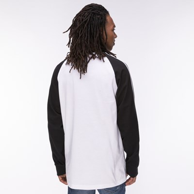 Alternate view of Mens adidas 3-Stripes Long Sleeve Tee