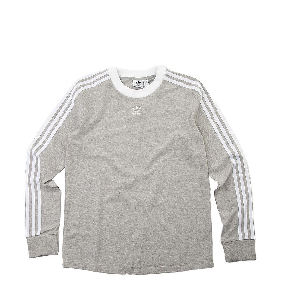 dde8e6ca6cf3c Womens adidas 3-Stripes Long Sleeve Tee. alternate image default view