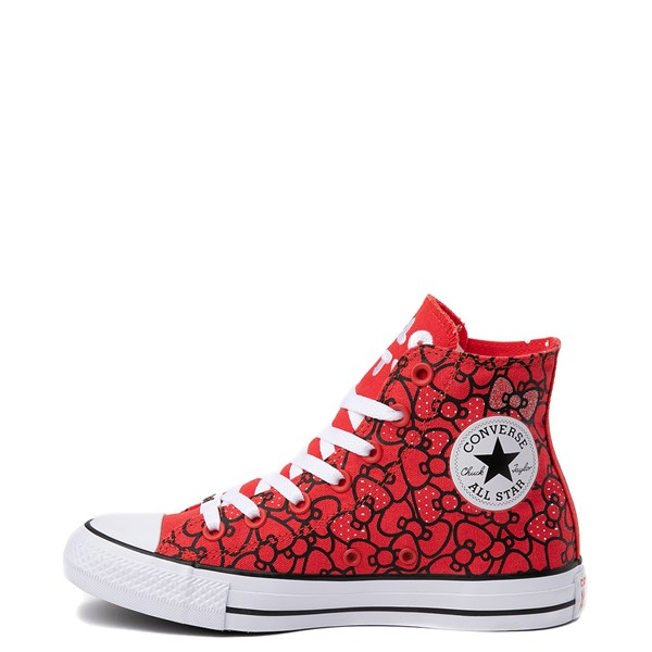 alternate image alternate view Converse Chuck Taylor All Star Hi Hello Kitty® Bows SneakerALT1