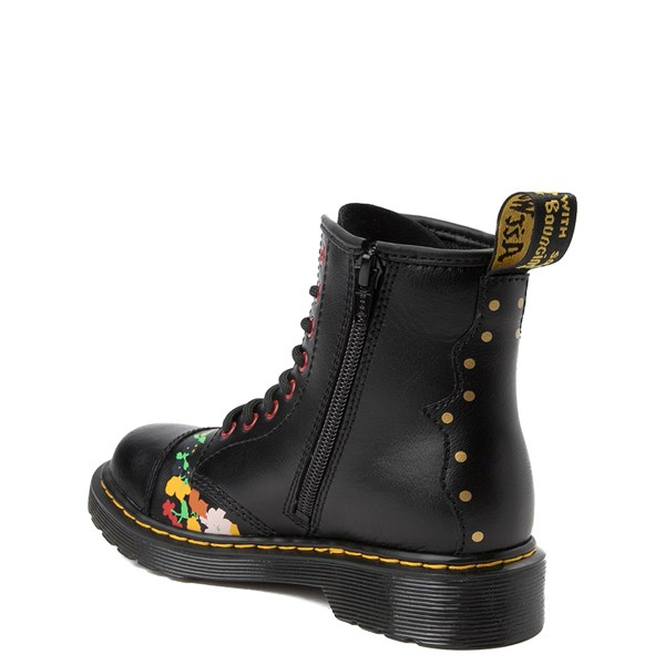 alternate image alternate view Dr. Martens 1460 8-Eye Pooch Boot - Little Kid / Big KidALT2