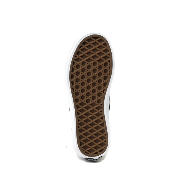 alternate image alternate view Vans Slip On Checkerboard Skate Shoe - Little Kid / Big Kid - Black / GreyALT3