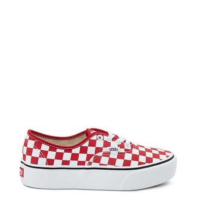 Main view of Vans Authentic Chex Platform Skate Shoe