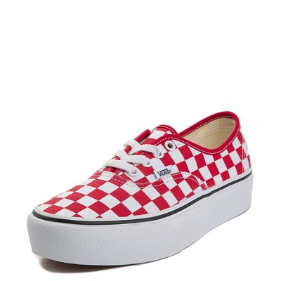 Alternate view of Vans Authentic Chex Platform Skate Shoe