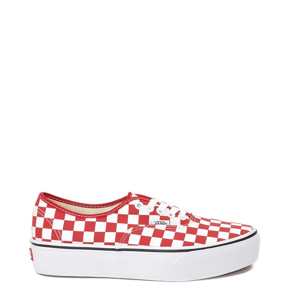 Vans Authentic Chex Platform Skate Shoe