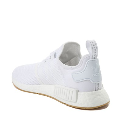 Alternate view of Mens adidas NMD R1 Athletic Shoe - White / Gum