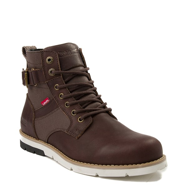 alternate image alternate view Mens Levi's 501® Cobalt Boot - BrownALT1
