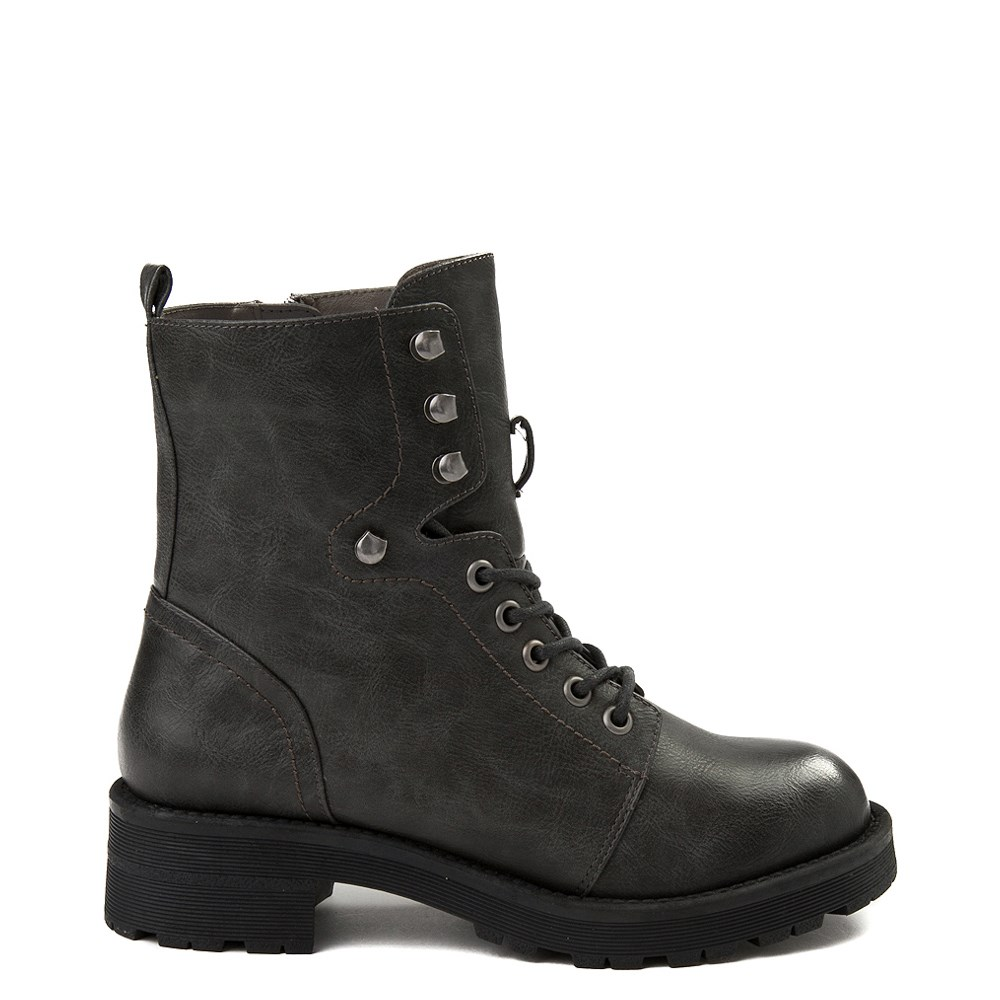 Womens MIA Indigo Combat Boot