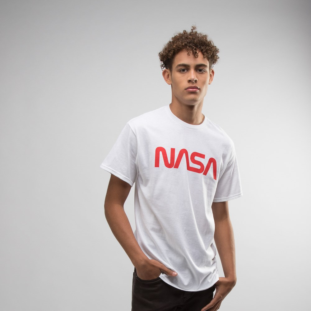 Mens NASA Logo Crew Tee