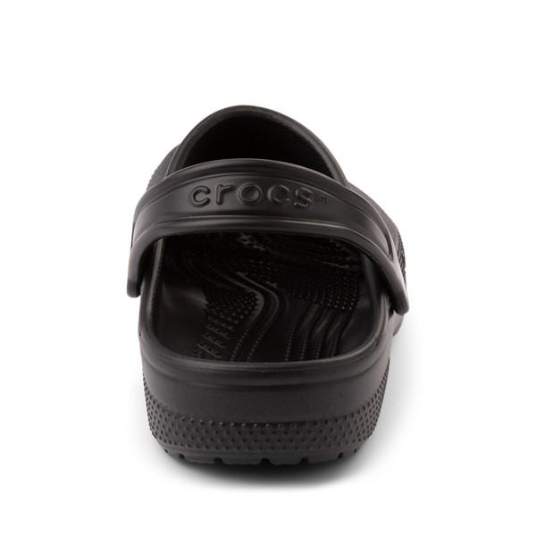 alternate image alternate view Crocs Classic Clog - Little Kid / Big Kid - BlackALT4