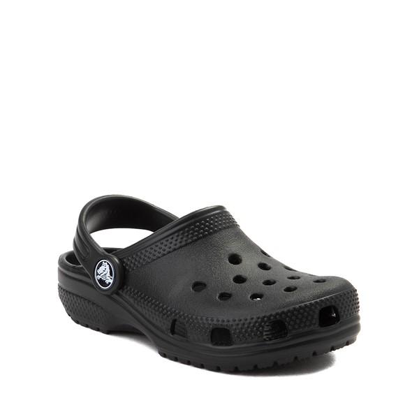 alternate image alternate view Crocs Classic Clog - Little Kid / Big Kid - BlackALT5