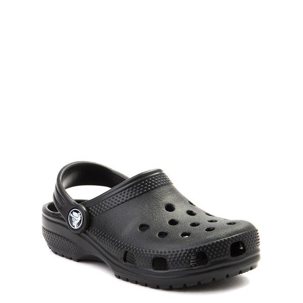 alternate image alternate view Crocs Classic Clog - Little Kid / Big Kid - BlackALT1