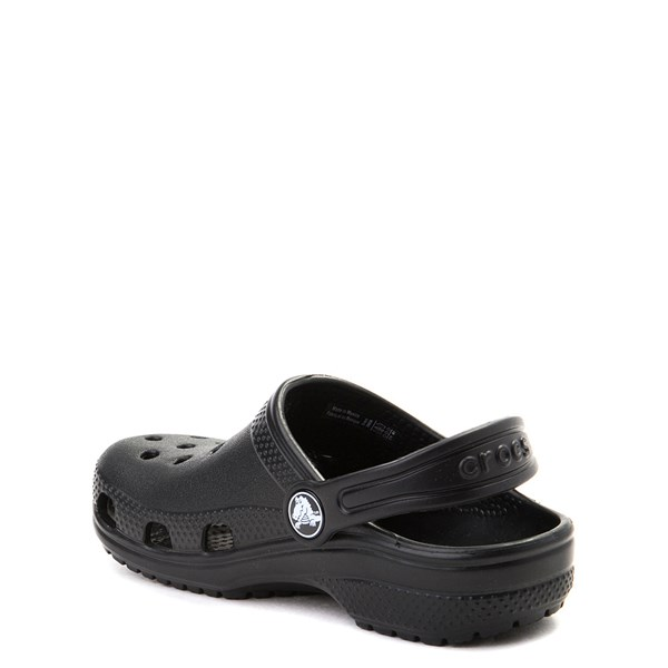 alternate image alternate view Crocs Classic Clog - Little Kid / Big Kid - BlackALT2