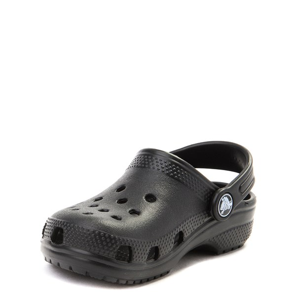 alternate image alternate view Crocs Classic Clog - Little Kid / Big Kid - BlackALT3