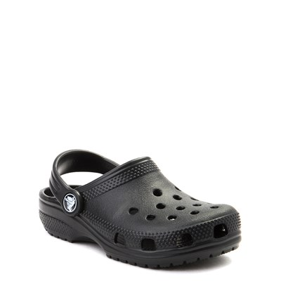 Alternate view of Crocs Classic Clog - Little Kid / Big Kid - Black