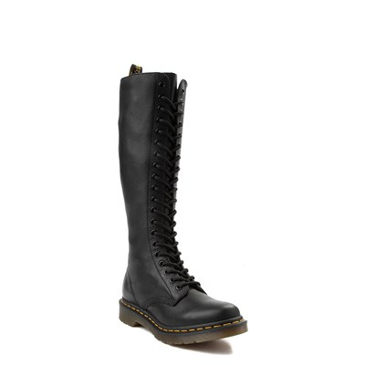Alternate view of Womens Dr. Martens 20 Eye Virginia Boot - Black