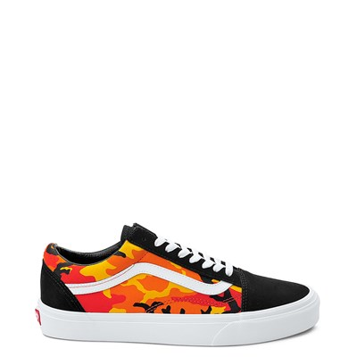 Main view of Vans Old Skool Pop Camo Skate Shoe