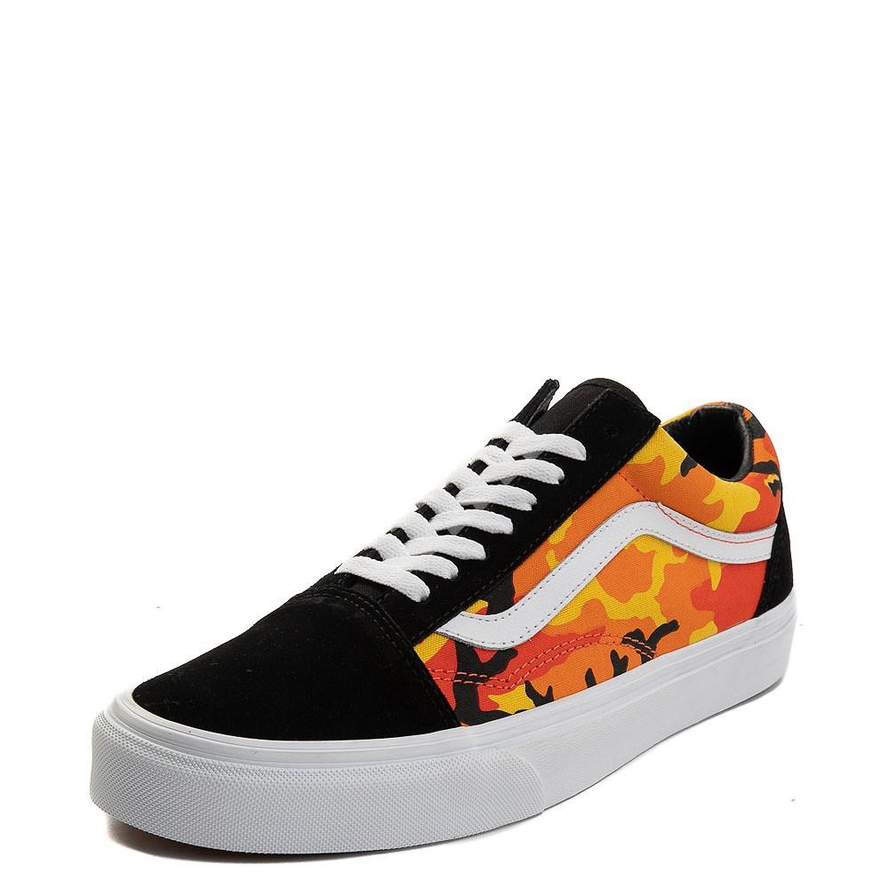 c6c2d0a822ab Vans Old Skool Pop Camo Skate Shoe