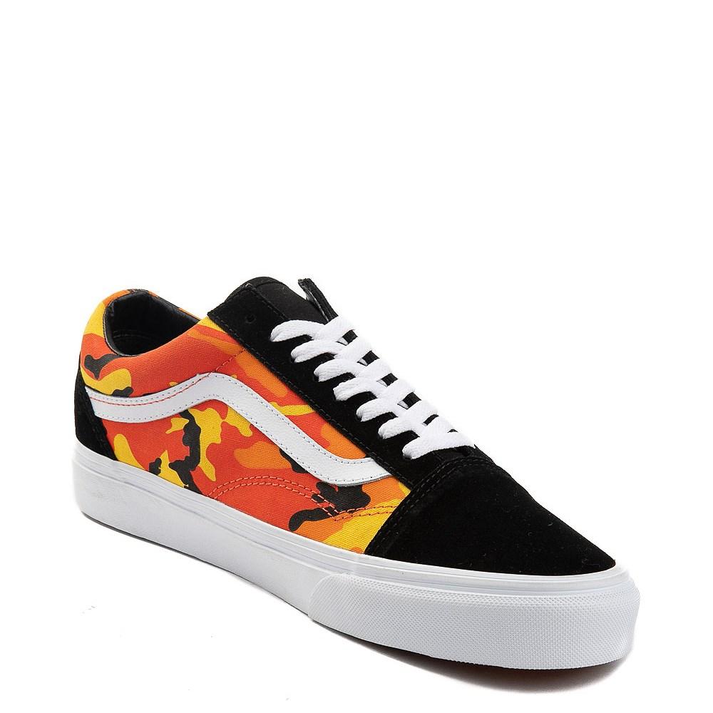 3cc5030b933f7b Vans Old Skool Pop Camo Skate Shoe