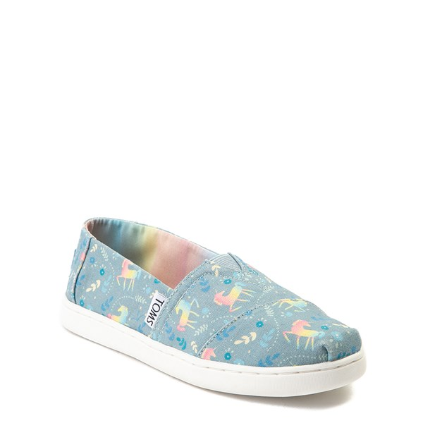 alternate image alternate view TOMS Classic Unicorn Slip On Casual Shoe - Little Kid / Big KidALT1