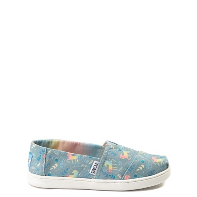 Main view of TOMS Classic Unicorn Slip On Casual Shoe - Little Kid / Big Kid