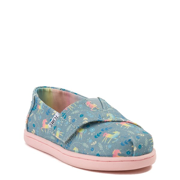 alternate image alternate view TOMS Classic Unicorn Slip On Casual Shoe - Baby / Toddler / Little KidALT1