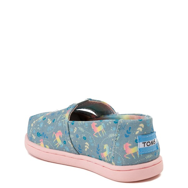 alternate image alternate view TOMS Classic Unicorn Slip On Casual Shoe - Baby / Toddler / Little KidALT2