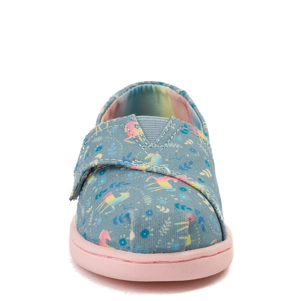 alternate image alternate view TOMS Classic Unicorn Slip On Casual Shoe - Baby / Toddler / Little KidALT4