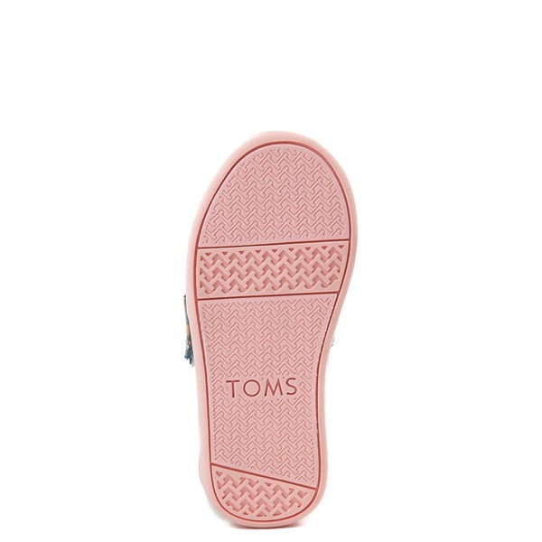 alternate image alternate view TOMS Classic Unicorn Slip On Casual Shoe - Baby / Toddler / Little KidALT5