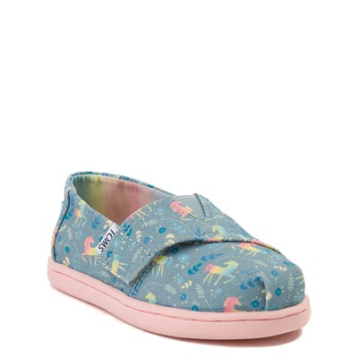 Alternate view of TOMS Classic Unicorn Slip On Casual Shoe - Baby / Toddler / Little Kid