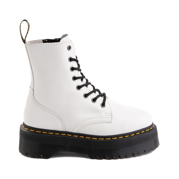 Main view of Dr. Martens Jadon Boot - White