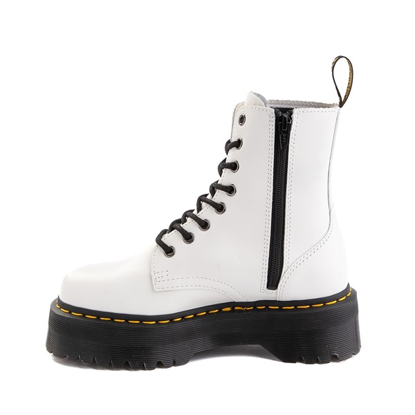 alternate image alternate view Dr. Martens Jadon Boot - WhiteALT1