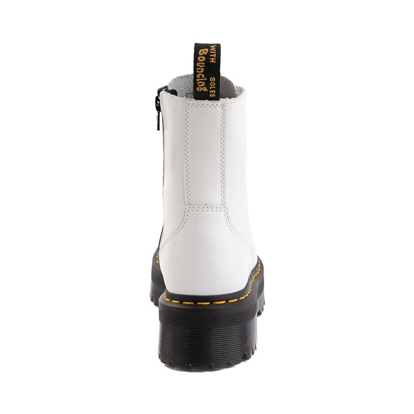 alternate image alternate view Dr. Martens Jadon Boot - WhiteALT4
