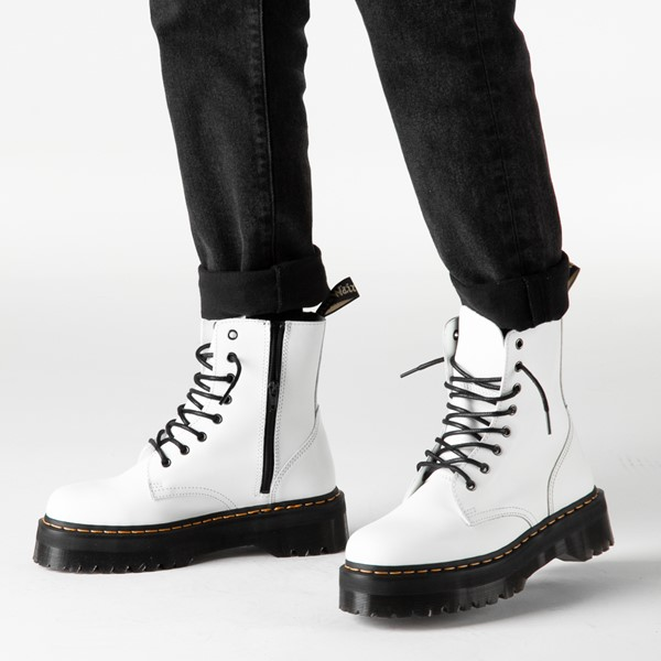 alternate image alternate view Dr. Martens Jadon Boot - WhiteB-LIFESTYLE1