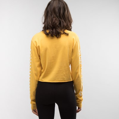 Alternate view of Womens Vans Fun Cropped Long Sleeve Tee