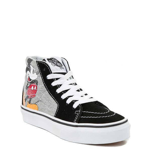 alternate image alternate view Disney x Vans Sk8 Hi Skate Shoe - Little Kid / Big KidALT1