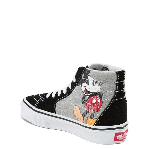 alternate image alternate view Disney x Vans Sk8 Hi Skate Shoe - Little Kid / Big KidALT2