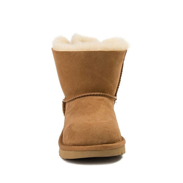 alternate image alternate view UGG® Mini Bailey Bow II Boot - Little Kid / Big Kid - ChestnutALT4