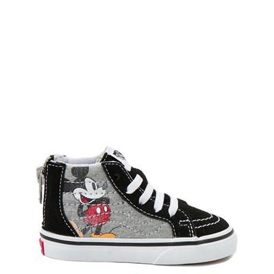 Main view of Disney x Vans Sk8 Hi Zip Skate Shoe - Baby / Toddler