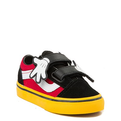 Alternate view of Disney x Vans Old Skool V Skate Shoe - Baby / Toddler