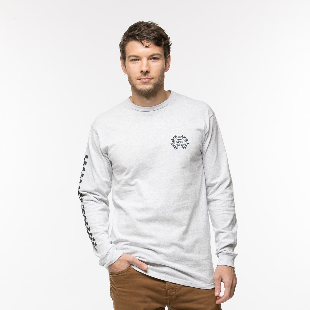 Mens Vans Check It Long Sleeve Tee