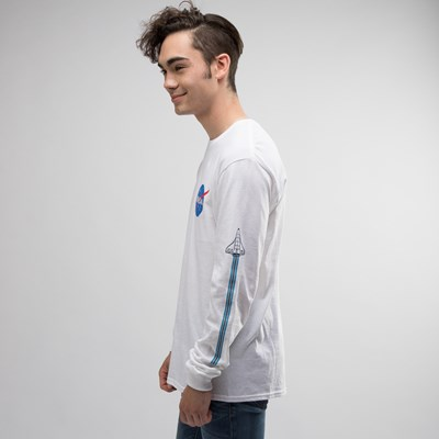 Alternate view of Mens NASA Space Shuttle Long Sleeve Crew Tee