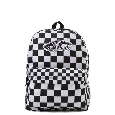 Main view of Vans Realm Mega Check Backpack