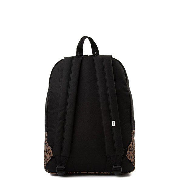alternate image alternate view Vans Realm Leopard BackpackALT1