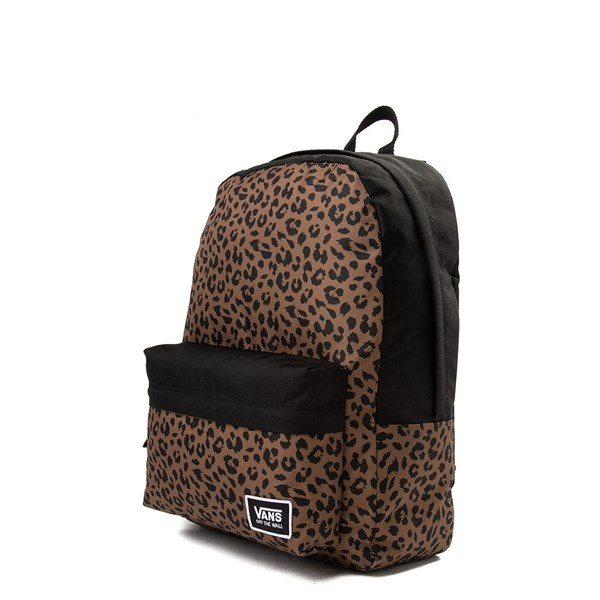 alternate image alternate view Vans Realm Leopard BackpackALT2