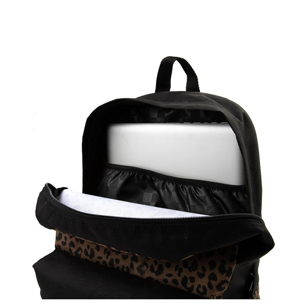 alternate image alternate view Vans Realm Leopard BackpackALT3