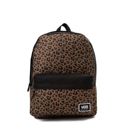 Main view of Vans Realm Leopard Backpack