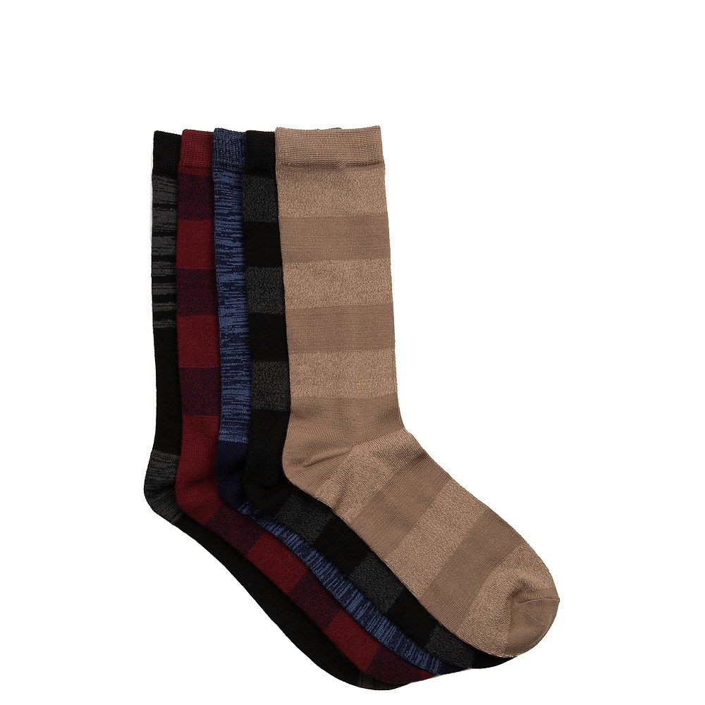 Mens Super Soft Crew Socks 5 Pack