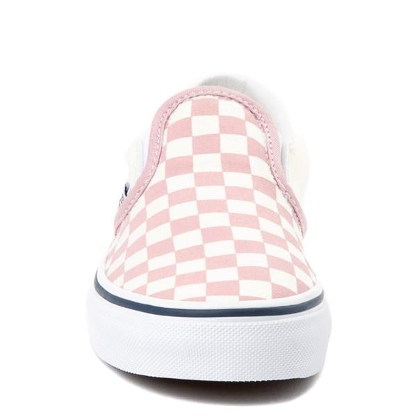 alternate image alternate view Vans Slip On Chex Skate Shoe - Little KidALT4