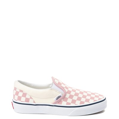 Main view of Vans Slip On Chex Skate Shoe - Little Kid