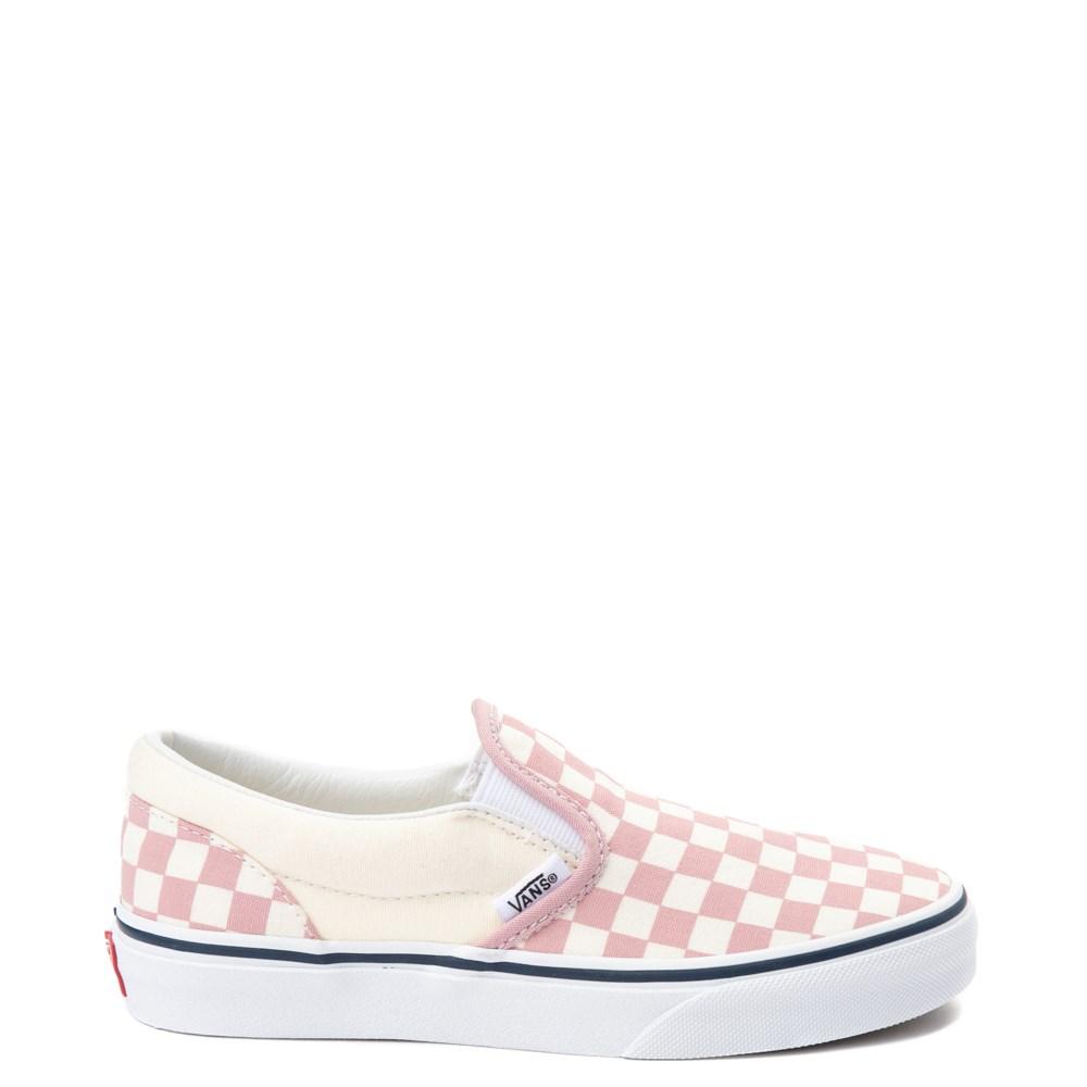 Vans Slip On Chex Skate Shoe - Little Kid